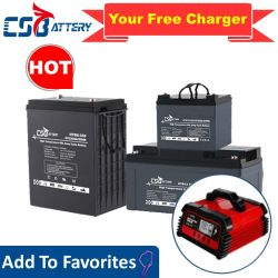 Csbattery 12V 100AH/150AH/200Ah Deep-Cycle Batería Recargable Gel para Solar/Inversor/Power-Tool/Electric-Scooter/Bicicleta/Vehículo/Pack/6V/MMS