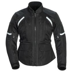 オートバイの服装を旅行する高品質のWomansの織物