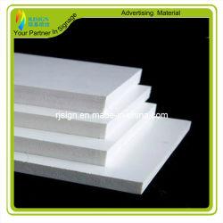 La Chine usine forme en PVC blanc Conseil 3mm mince feuille de mousse PVC Meilleur prix
