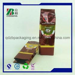 Barreira de umidade impresso personalizado papel alumínio Café Verde saquinhos de chá