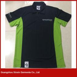 Van het Katoenen van de douane de Recentste T-shirts van het Polo Dri van het Ontwerp van de Mensen Overhemd van het Polo Bulk Lege Geschikte (P158)