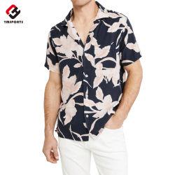 Nouveau design personnalisé Hawaiian Shirt pour hommes