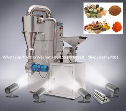 150-300kgs/Hour gezuiverde Pulverizer van de Korrel van de Rijst van het Poeder/Machine van de Molen van de Spaanse peper van de Peper van het Kruid van het Blad van het Kruid de de Malende/Molen van de Gember van de Sojaboon voor Voedsel