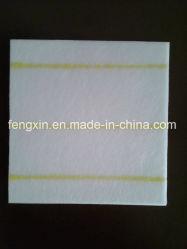 Линии бумага сепаратора 2 батареи стеклоткани желтые изоляции
