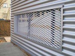 알루미늄에 의하여 확장되는 금속 Windows 안전 메시