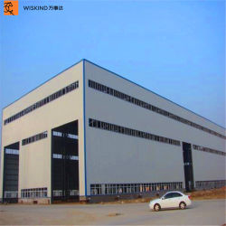 Prefabricated H 단면도 공간 다중 경간 빛 강철 구조물 작업장 창고 물자 건물은 아파트 계약자 일반적인 턴키 강철 프레임을 주문을 받아서 만든다