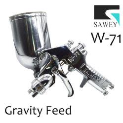 Sawey W-71 Manual de alimentação por gravidade lado pistola de bico de pulverização de tinta