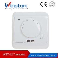 Wst-12 16A 230VAC Termóstato de divisão do visor LCD programável