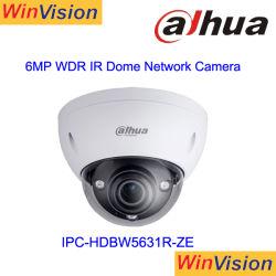 Poe Dahua IP van de Koepel van het Bewijs van de Vandaal van Dahua 6MP Camera ipc-Hdbw5631r-Ze