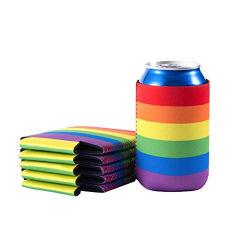 Refroidisseur de néoprène Rainbow Imprimer logo personnalisé 330ml Stubby titulaire