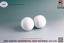 媒体をひくセメントの製造所/Dryのためのアルミナの陶磁器の球を地殻均衡押すこと