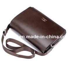 ラップトップのノートパソコンのためのPU Crossbodyの肩の人のメッセンジャー袋