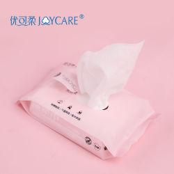 De katoenen Kosmetische Schoonmakende Handdoek van het GezichtsWeefsel