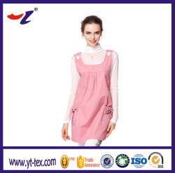 Mulher grávida precisa de roupas de proteção contra radiação