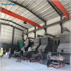 SGS는 고품질 Ferro 실리콘 마그네슘 합금을 증명했다