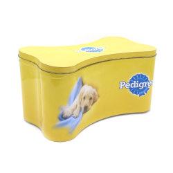 Bone Shape Big Metal Packing Dog Food Tin CAN