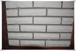 Tijolo artificial da cultura do olhar de pedra natural para a decoração da parede exterior