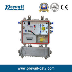 Amplificador de RF de CATV unidirecional para exterior