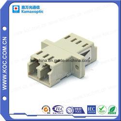 Adattatore ottico duplex della fibra di LC