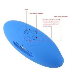 Scheda radiofonica stereo portatile di sostegno FM TF dell'altoparlante di Bluetooth X6