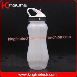 650ml d'eau Bouteille avec la paille et le tube de glace (KL-7077)