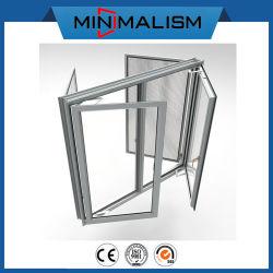 Alluminio di vetro Heat-Insulated della finestra della stoffa per tendine della maglia della zanzara della rottura termica