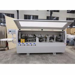 熱い接着剤MDFのボードのための5つの機能端のバンディング機械