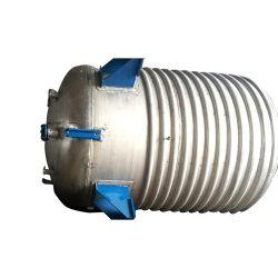 Schneller Versand rührte Becken-Reaktor-halben Ring-Reaktor für heißen Schmelzkleber