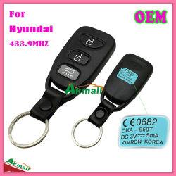 Auto chave do carro para Hyundai com as teclas 433.9MHz 3