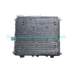 Литая деталь штампов автомобильное зарядное устройство из алюминиевого сплава с радиатора и теплоотвод с вентилятором частей корпуса