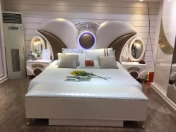 Top seller moderno letto matrimoniale arredamento camera da letto parete letto king Letto con ripostiglio