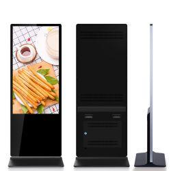 De 43 pulgadas de alta calidad de 49 pulgadas de 55 pulgadas para interiores 65 pulgadas LCD Digital Signage Publicidad Display, quiosco de LCD