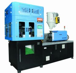 ماكينة تصنيع الزجاجات البلاستيكية تستخدم ماكينة قولبة بالحقن البلاستيكية