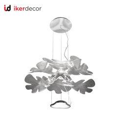 Nouvelle arrivée lustre acrylique double couche pendaison décoration lumière de la télécommande