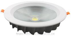 Vertiefter druckgießender Aluminiumpunkt-Licht 30W PFEILER LED Kreis Downlight
