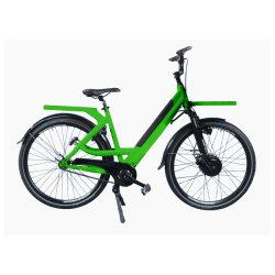 시티 그린 파워 홀랜드 헤비듀티 패스트 피자 E 바이크 배달 음식 상자 백 전기 자전거