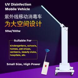 Esterilizador ultravioleta luz de lâmpadas UV portáteis para desinfecção UV Hospital Escola 55W