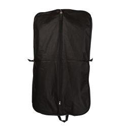 Comercio al por mayor barato traje de PVC resistente al agua reutilizable bolsa de ropa con bolsillos