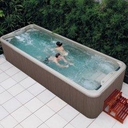Dubai Sexo Fibra portátil mini piscina de spa de madeira madeira 6m