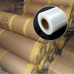 غشاء شفاف جداً من مادة PVC (دائرة ظاهرية دائمة) شفاف جداً من الفلورسنت شفاف في الأسطوانات لديكور التعبئة