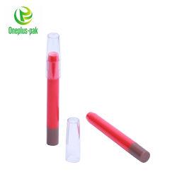 1,5 ml 2ml 4ml ronda el tubo de plástico envases cosméticos dientes Whiteening/Eyeliner/Lip Gloss girar la botella de plumas cosméticas