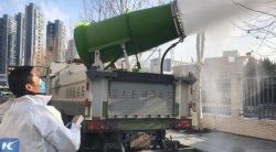 Горячая вода запотевание стекол противотуманные фары системы опрыскивателя Cannon для предотвращения эпидемии