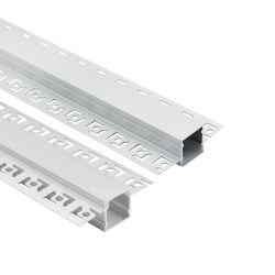 Disipador térmico de aluminio de 1m extrusiones de refrigeración Perfil LED tira de yeso crecer Canal Lámpara LED de la barra de luz LED de la carcasa de aluminio partes
