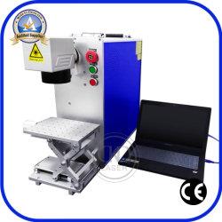 De draagbare Laser die van de Vezel Machines voor de Plastic Bank van de Macht van het Geval van de Telefoon van de Muis merken
