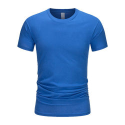 Venta al por mayor baratos fabricados en China la impresión de logotipo personalizado camiseta