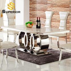 """Ресторан """"за круглым столом мраморным верхней металлической раме обеденный стол со стульями"""
