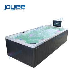 Joyee 4m SPA Piscina com televisor nadar SPA Piscina