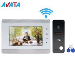 Ahd 1080P IP vidéo sans fil WiFi Doorphone APP Assistance Ouvrir la porte