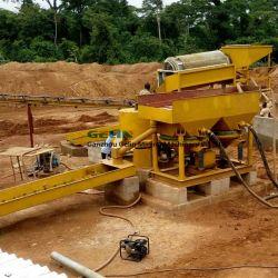 Conjunto Completo de venda quente areia planta de processamento de beneficiamento de Ouro