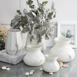 Chinese Factory Supplier Wholesale Different Style Glass Vaas Home Decorative Glazen Bloemenvaas